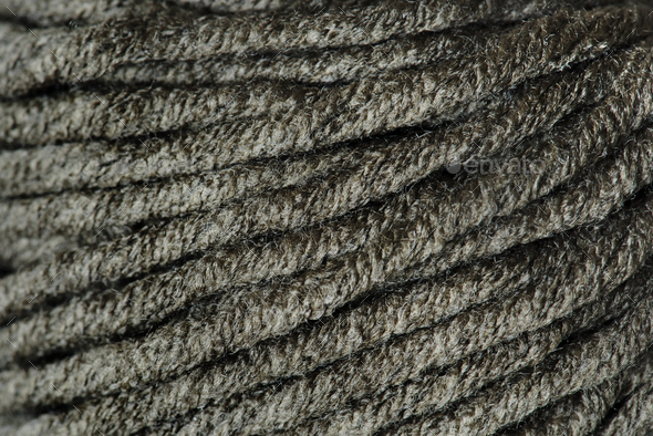Closeup of wool fabric - Stock Photo - Images