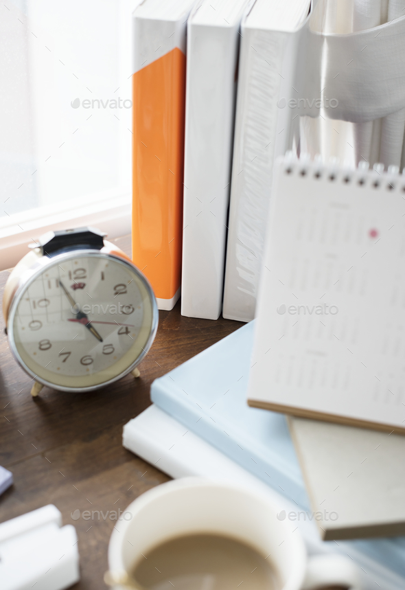 Closeup of alarm clock - Stock Photo - Images