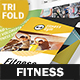 Fitness Club Trifold Brochure - GraphicRiver Item for Sale