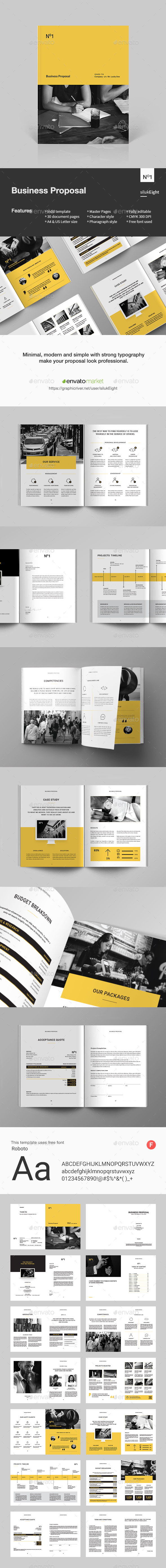 Business Proposal - Corporate Brochures