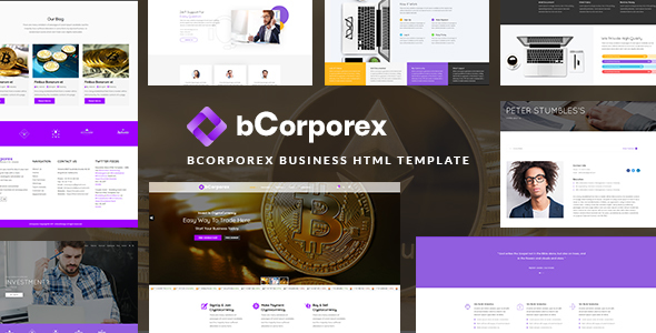 bCorporex Business & Financial Consulting HTML Template