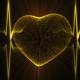 Heart with Heartbeat Cardiogram - VideoHive Item for Sale