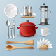 Set of Kitchenware - GraphicRiver Item for Sale