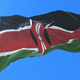 Flag of Kenya Waving - VideoHive Item for Sale