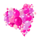 Colorful balloons heart group - PhotoDune Item for Sale