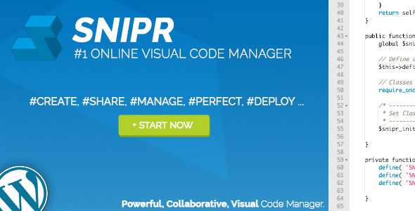 WP Snipr - Collaborative Code Editor - CodeCanyon Item for Sale