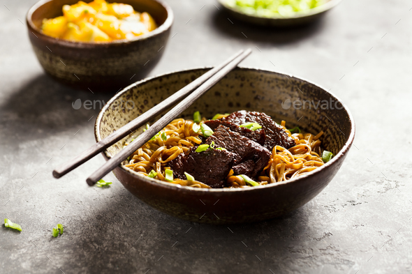 Asian noodle  - Stock Photo - Images