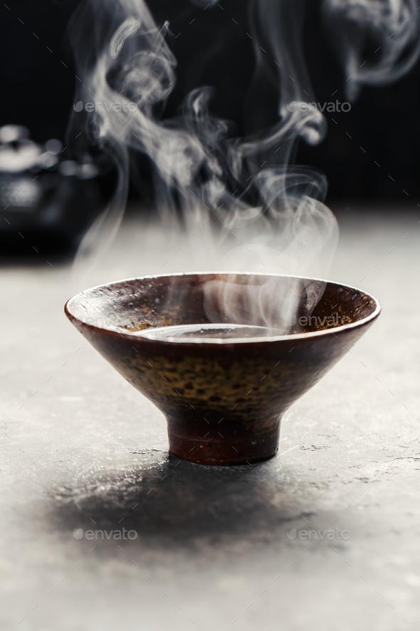 Hot tea  - Stock Photo - Images