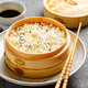 Steamed rice in bamboo steamer - PhotoDune Item for Sale