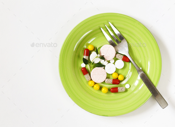 Various Pills - Stock Photo - Images