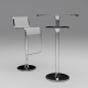 Bar chair & Table - 3DOcean Item for Sale
