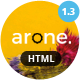 Arone - One Page Parallax - ThemeForest Item for Sale