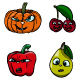 Fruit Characters - GraphicRiver Item for Sale