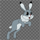 Cartoon Character Hare 2 - VideoHive Item for Sale