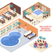 Set of Isometric Spa Compositions