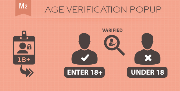 Age Verification PopUp Magento 2 - CodeCanyon Item for Sale