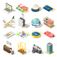 Travel Isometric Icons - GraphicRiver Item for Sale