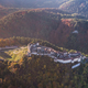 Aerial view of Rasnov Fortress Romania - PhotoDune Item for Sale