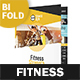 Fitness Club Bifold / Halffold Brochure - GraphicRiver Item for Sale