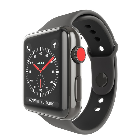 Apple Watch Edition Series 3 42mm with Sport Band Ceramic Black - 3DOcean Item for Sale