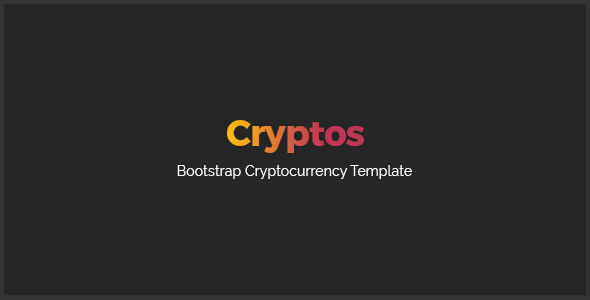 Cryptos - Cyptocurrency Template - Corporate Site Templates