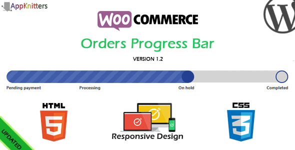 WooCommerce Orders Progress Bar - CodeCanyon Item for Sale