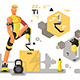 Prostheses for Sport and Fitness - GraphicRiver Item for Sale