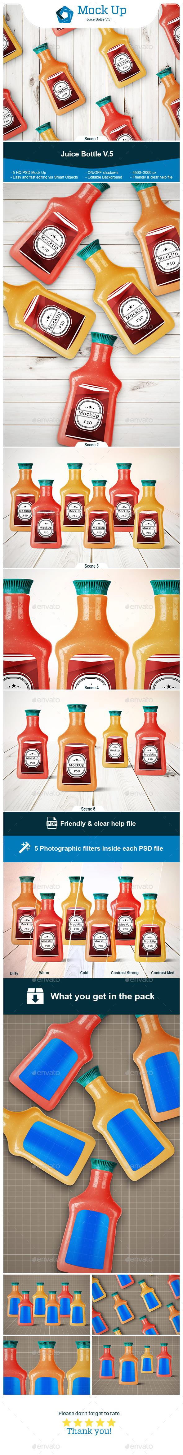 Juice Bottle V.5 - Miscellaneous Print