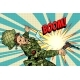Soldier and Explosion Death in War - GraphicRiver Item for Sale
