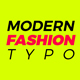 Modern Fashion Typo Opener - VideoHive Item for Sale