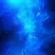 Crazy Fast Flight in Hyperspace of Space Among Nebulae and Stars with Flares in Blue - VideoHive Item for Sale
