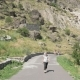 Young Girl Walks in Cave Monastery Vardzia - Georgia - VideoHive Item for Sale