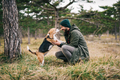 Man and his dog - PhotoDune Item for Sale