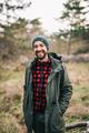 Man in nature smiling - PhotoDune Item for Sale