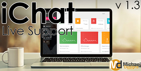 iChat - Realtime PHP Live Support System - CodeCanyon Item for Sale