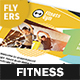 Fitness Club Flyers – 4 Options - GraphicRiver Item for Sale