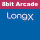 8bit Game Arcade Logo