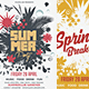 Spring Summer Party Flyer - GraphicRiver Item for Sale