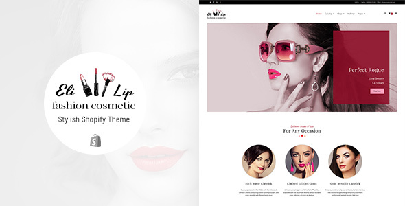 Image of Eli - Lipstick & Nail Polish Store Shopify Theme