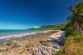 Ellis Beach with rocks near Palm Cove, Queensland, Australia - PhotoDune Item for Sale