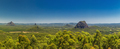Panoramic view of Glasshouse Mountains on the Sunshine Coast fro - PhotoDune Item for Sale