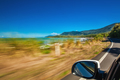 Road trip with motion blur along Ellis Beach near Palm Cove and - PhotoDune Item for Sale
