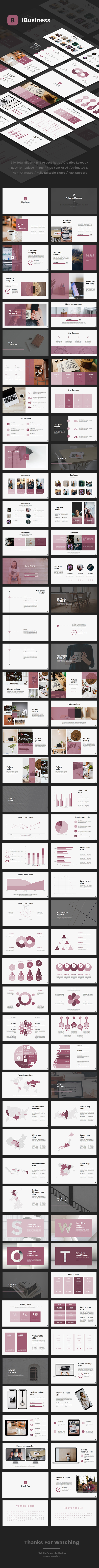 iBusiness Google Slides - Google Slides Presentation Templates