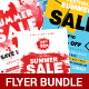 Summer Sale Flyer Bundle - GraphicRiver Item for Sale