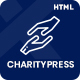CharityPress - Charity Fundraising HTML Template - ThemeForest Item for Sale