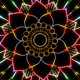 Colorful Neon Mandala - VideoHive Item for Sale