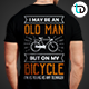 Classic Bicycle T-Shirt Badge
