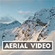 Aerial Video of a Mountain during Sunrise - VideoHive Item for Sale