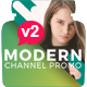 Modern Channel Promo v2 - VideoHive Item for Sale