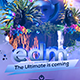 EDM Festival Banner - GraphicRiver Item for Sale